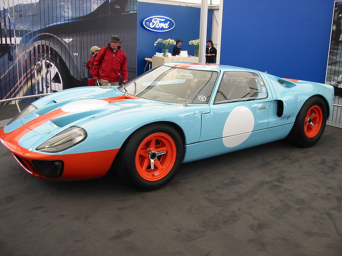 ford gt40 wikipedia rh en wikipedia org 1984 Ford F 150 Performance Engines American Austin Bantam