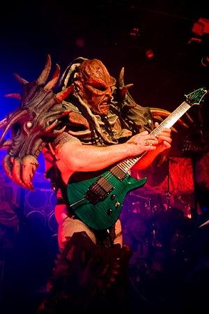 Flattus Maximus, guitarist of GWAR