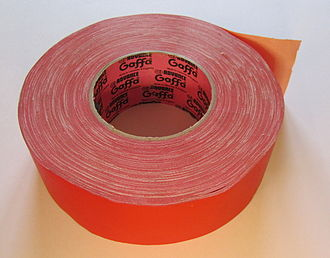 Gaffer tape - Red gaffer tape