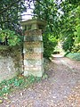 Gate posts, Chettle - geograph.org.uk - 1029947.jpg