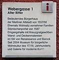 Gedenktafel Webergasse 1 (Meißen) Alter Ritter.jpg