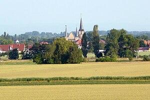 Geinsheim (Neustadt) - View of Geinsheim