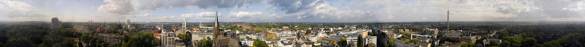 Panorama of Gelsenkirchen