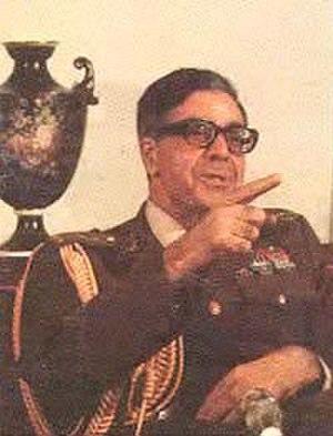 Gholam Reza Azhari - Image: General Gholam Reza Azhari