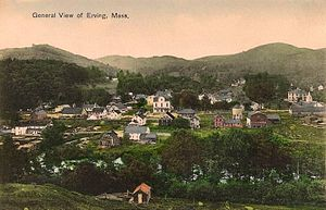 Erving, Massachusetts - General view in 1908