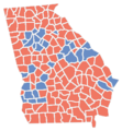 Georgia Presidential Election Results 2016.png
