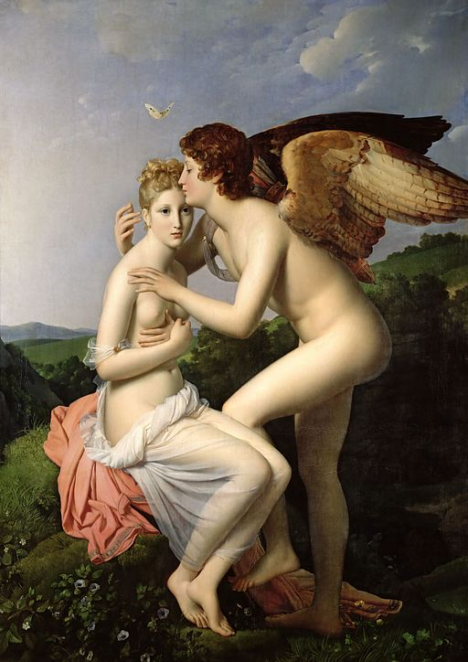 """""""Cupid and Psyche"""" by François Gérard"""