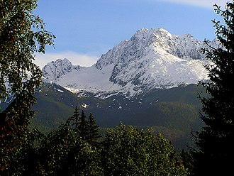 Geography of Slovakia - The highest mountain