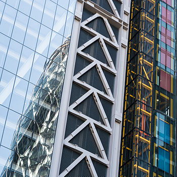 Gherkin Cheesegrater Abstract