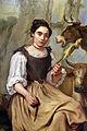 Giacomo ceruti detto il pitocchetto, filatrice e contadino con gerla, 1765 circa 02.JPG