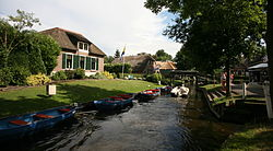 Canals of Giethoorn in 2014