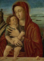 Giovanni Bellini: Madonna and child SK-A-3287