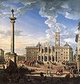 Giovanni Paolo Pannini - The Piazza and Church of Santa Maria Maggiore.jpg