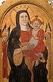Giovanni antonio da pesaro (attr.), madonna col bambino, angeli e la crocifissione, 1450 ca. 03.jpg