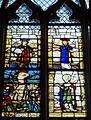 Gisors (27), collégiale St-Gervais-et-St-Protais, collatéral sud, verrière n° 20 - vie de sainte Barbe 2.jpg