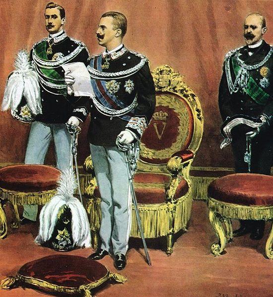 File:Giuramento di Vittorio Emanuele III.jpg