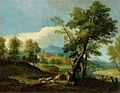 Giuseppe Zola - Krajina s pastirjem in čredo.jpg