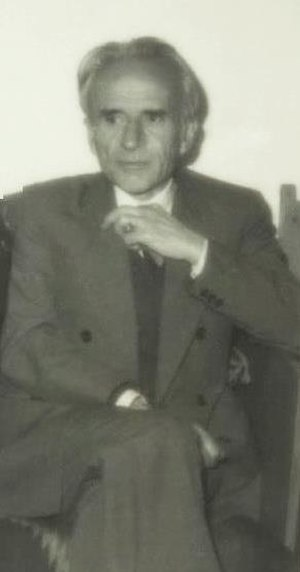 Fahredin Nuri - Engineer Fahredin Nuri in his late years