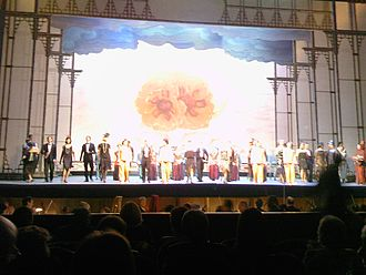 The Red Poppy - Ballet triumph in Rome, February 12, 2010