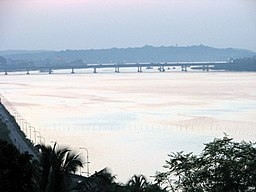 none Mandovi Bridge view from Ribandar