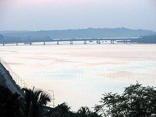 Mandovi River river in India