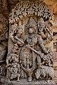 Goddess Durga - Lakshmi Narasimha Temple, Nuggehalli 17.jpg