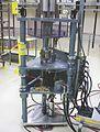 Godiva critical mass assembly machine.jpg