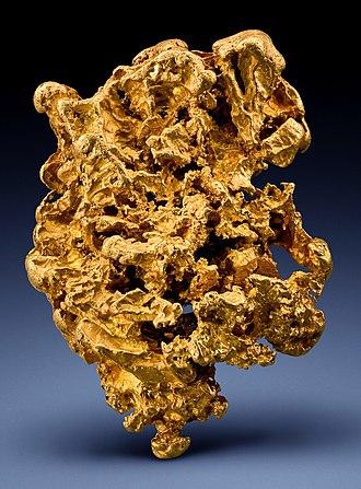Shire of Loddon - Large gold specimen from Wychitella, Loddon Shire