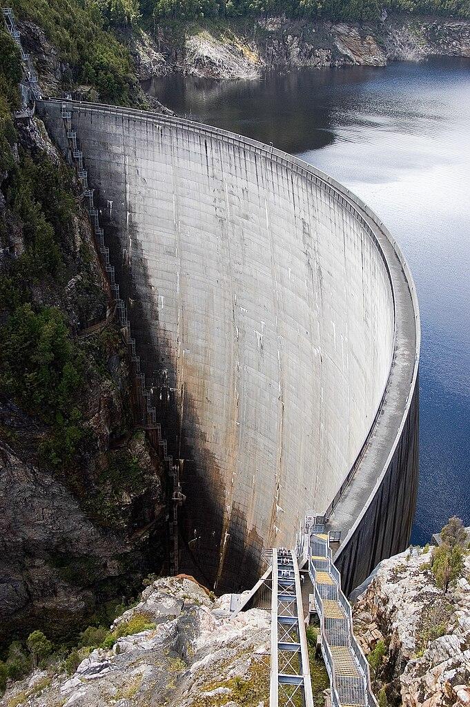 File Gordon Dam Southwest National Park Tasmania Jpg