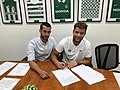 Goren and Wildschut signing.jpg