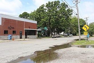 Gorham, Illinois - U.S. Post Office in Gorham