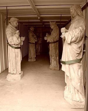 Gorton Monastery - Statues