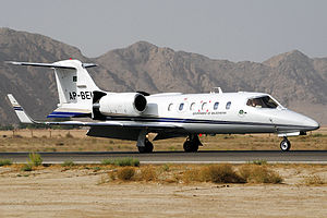 Government of Balochistan, Pakistan - A Learjet 31A jet of balochistan government.