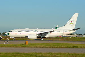 Nigerian Air Force - A Boeing 737 VIP transport