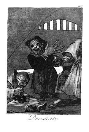 Goblin - Image: Goya Caprichos (49)