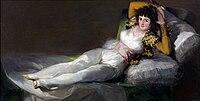 A felöltözött Maja (1800)