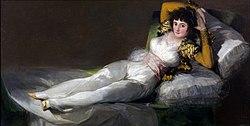 The Clothed Maja, ca. 1803.