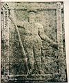 Grabstein des Achatius von Zehmen 1909 in Stuhm.JPG