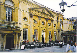 Grand Pump Room, Bath - Image: Grand Pump Room Bath