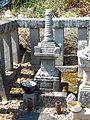 Grave of Toda Munemitsu, Chōkōji, Tahara(2016.04.30).JPG