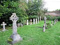 Graves at the back - geograph.org.uk - 1455443.jpg