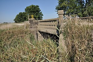 Lincoln Highway in Greene County, Iowa - Little Beaver Creek Bridge
