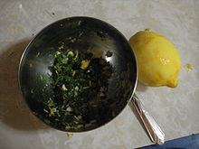 Gremolata - Wikipedia, the free encyclopedia