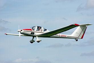 T-tail - Grob G 109 motor glider