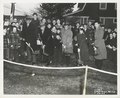 Ground Breaking - Great Kills Branch Library 56 Gifford Lane, Staten Island - left to right- Mr. Ralph A. Beals, Director, The New York Public Library; Honorable Frederick H. Zurmuhlen, P.E., R.A., (NYPL b11524053-1252682).tiff