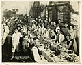 Group portrait of Passover Seder, Manila, Philippines, 1925 (4502486553).jpg
