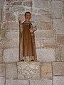 Guengat (29) Église Saint-Fiacre Statue 10.JPG