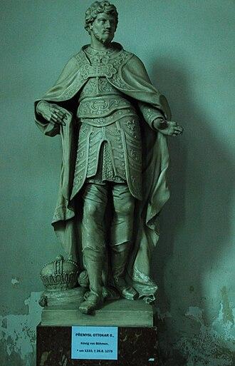 1273 Imperial election - Image: Guenther Z 2011 02 12 0025 Wien 01 Minoritenkirche Ottokar Przemysl