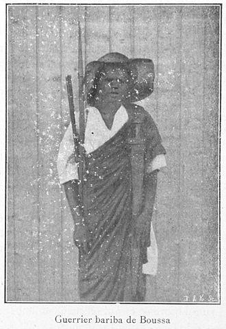 Bariba people - Image: Guerrier bariba de Boussa
