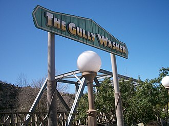 The Gully Washer - Image: Gully Washer sign